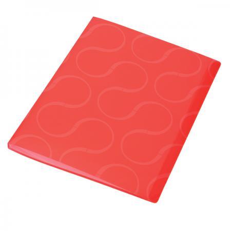Папка с файлами OMEGA, 20 файлов, цвет красныйй, материал полипропилен, плотность 450 мкр 0410-0032-05