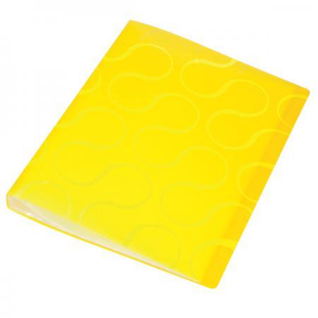 Папка с файлами OMEGA, 20 файлов, цвет желтый, материал полипропилен, плотность 450 мкр 0410-0032-06 папка с файлами omega 20 файлов цвет красныйй материал полипропилен плотность 450 мкр