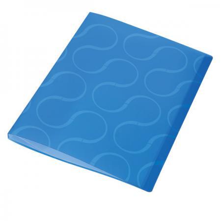 Папка с файлами OMEGA, 40 файлов, цвет синий, материал полипропилен, плотность 450 мкр 0410-0033-03