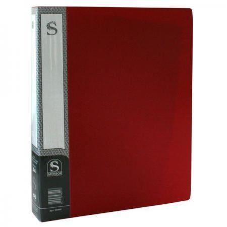 Папка с 60 файлами, форзац, ф.А4, красная SDB60/RD ozcan лампа timon 60 красная