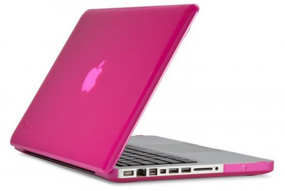 "все цены на Чехол для ноутбука MacBook Pro 15"" Speck SPK-A1952 пластик розовый онлайн"