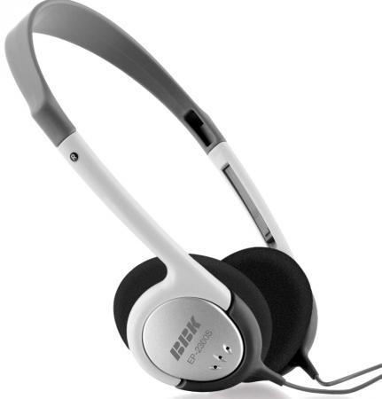 Наушники BBK EP-2300S серый наушники bbk ep 2300s grey