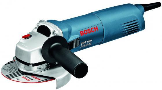 Угловая шлифмашина Bosch GWS 1400 1400Вт 125мм шлифовальная машина bosch gws 1400 professional