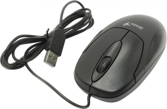 Мышь проводная Genius Mouse XScroll V3 чёрный USB