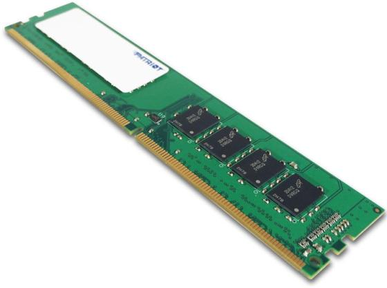 Оперативная память 8Gb (1x8Gb) PC4-19200 2400MHz DDR4 DIMM CL17 Patriot PSD48G240081 оперативная память 8gb 1x8gb pc4 19200 2400mhz ddr4 dimm cl17 patriot psd48g240081