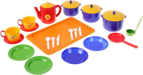 Набор посуды Плейдорадо Хозяюшка большой 21006 набор посуды плейдорадо для чаепития 22016