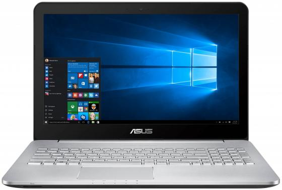 Ноутбук ASUS N552VX 15.6 1920x1080 Intel Core i7-6700HQ 2 Tb 8Gb nVidia GeForce GTX 950M 4096 Мб серый Windows 10 Home 90NB09P1-M03170 samsung rs 552 nruasl