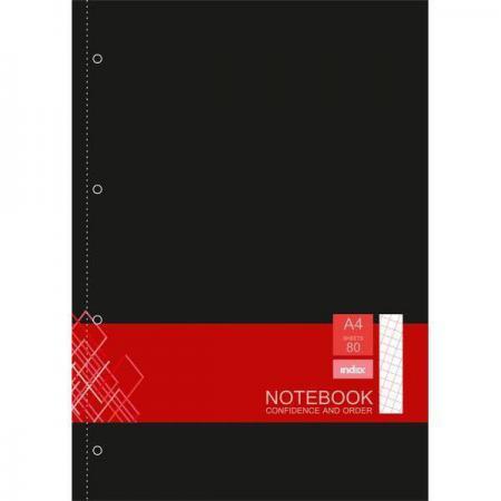 Блокнот Index IN0103-A450 A4 50 листов в ассортименте блокнот index in0101 a540 a5 40 листов в ассортименте