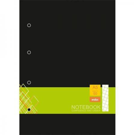 Блокнот Index IN0103-A550 A5 50 листов в ассортименте