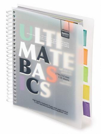 Блокнот Альт Ultimate Basics A5 150 листов в ассортименте 3-150-376 happiness basics толстовка