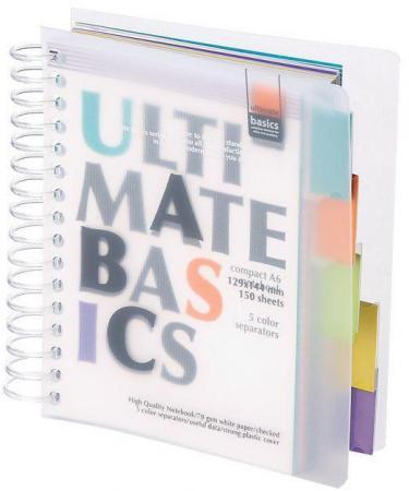 Блокнот Альт Ultimate Basics A6 150 листов 3-150-377 в ассортименте 3-150-377 блокнот альт ultimate basics a5 150 листов в ассортименте 3 150 376