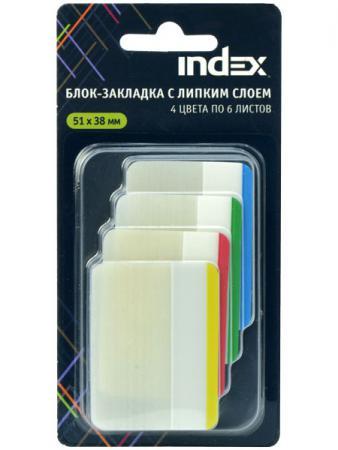 Стикер Index 24 листа 51х38 мм многоцветный I466810 фильм кадеты topic index