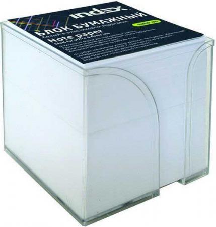 Блок бумажный Index 90х90х90 мм белый I9900/R