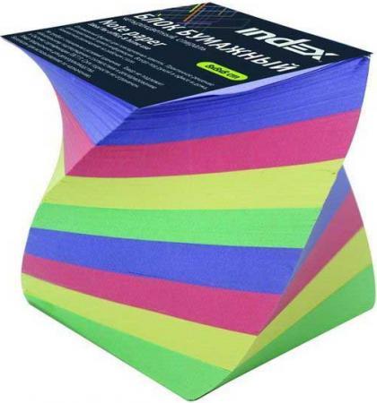Блок бумажный Index 80х80х80 мм многоцветный IPC888cS фильм кадеты topic index