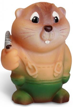 Резиновая игрушка Огонек Бобр Лесоруб 10 см С-362 mattel набор кукол клео де нил и дьюс горгон monster high