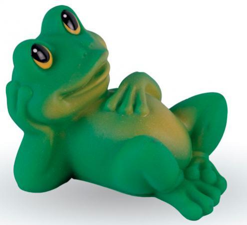 Резиновая игрушка для ванны Огонек Лягушонок Квак С-541 9 см