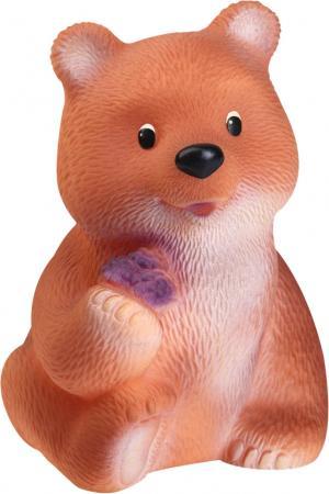 Резиновая игрушка Огонек Медведь Топтыжка С-643 18 см в ассортименте игрушки для ванны огонек игрушка медведь топтыжка
