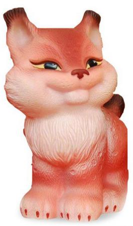 Резиновая игрушка для ванны Огонек Рыська 11 см С-1157 игрушки для ванны огонек игрушка медведь топтыжка