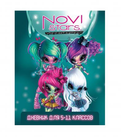 Дневник для старших классов Action! NOVI STARS линейка NS-DU-1 NS-DU-1 пенал на одно отделение action novi stars ns apc4201 1 ns apc4201 1