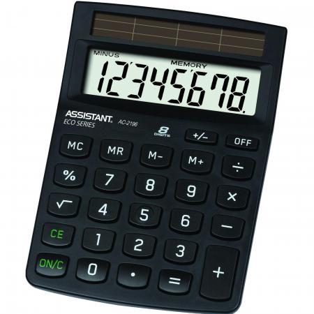 цена на Калькулятор настольный Assistant AC-2196eco 8-разрядный AC-2196eco