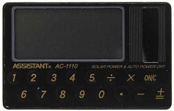 калькуляторы assistant калькулятор карманный Калькулятор карманный Assistant AC-1110 8-разрядный