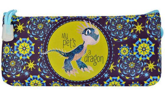 Пенал косметичка Action! DRAGONS DR-APC4200/1 DR-APC4200/1 сумка action dragons рисунок принт dr ass2300 1 dr ass2300 1