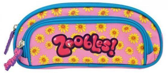 Пенал на два отделения Action! Zoobles ZB-APC4260/3 ZB-APC4260/3 набор шариковых ручек action zoobles 3 шт zb abp152 3 zb abp152 3