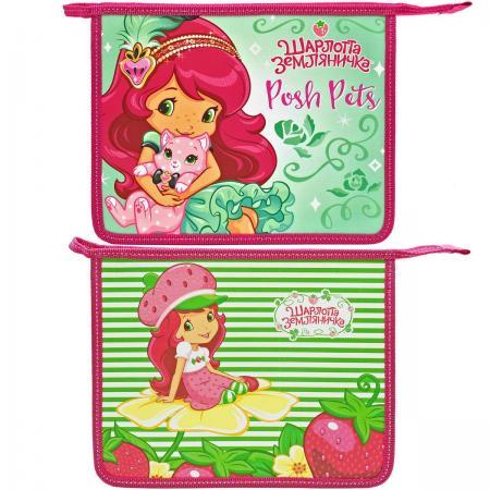 Папка для тетрадей на молнии ACTION! STRAWBERRY SHORTCAKE SW-FZA5 strawberry print pencil case