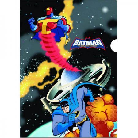 Папка-уголок ACTION! /Бэтмен: отважный и смелый/, 0,2мм, А4, ассорти BA-APF303 папка уголок а4 funny bones пластик 0 18мм