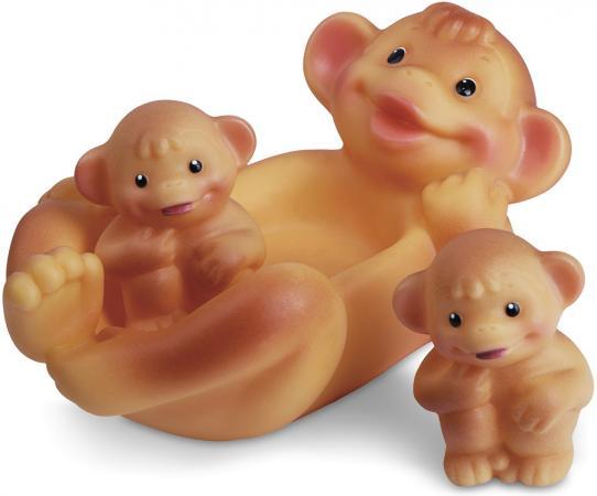 Резиновая игрушка для ванны Огонек Обезьяна с обезьянками 18.5 см С-796 игрушка огонек черепаха соня с 923