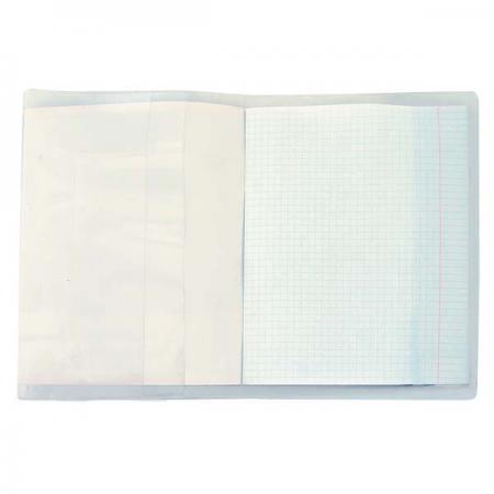 Обложка универсальная для учебников, 150 мкм, ПВХ, разм.230х465 01-5180-2 обложка для школьных учебников универсальная 32х23 прозрачная