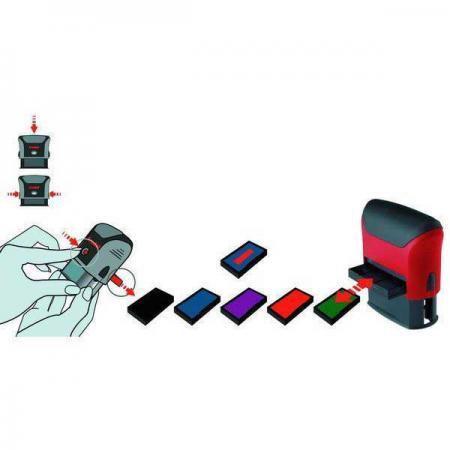 Сменная штемпельная подушка, фиолетовая, к арт. 46040 6/46040Ф trodat сменная штемпельная подушка неокрашенная к арт 4911 4951 4820 4846