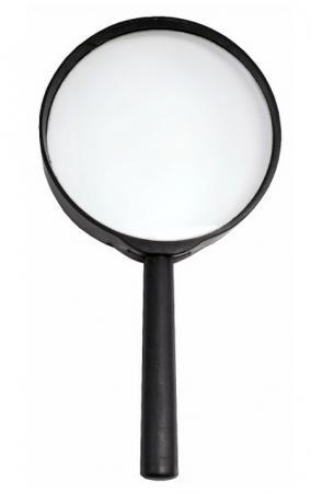 Лупа канцелярская, диаметр 75 мм, увеличение 3 SMG02 цена 2017