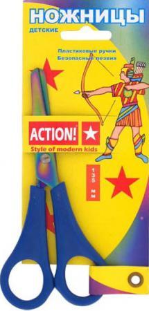 Ножницы детские Action! ASC202 13.5 см в ассортименте ножницы детские action bnf fsc155 13 см в ассортименте