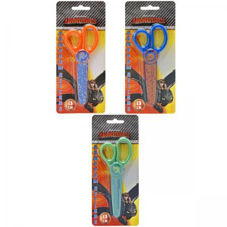 Ножницы детские Action! DRAGONS 13 см в ассортименте DR-ASC250 polish 12012 p