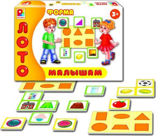 Настольная игра развивающая Радуга Лото малышам Форма С-909 лото малышам времена года радуга