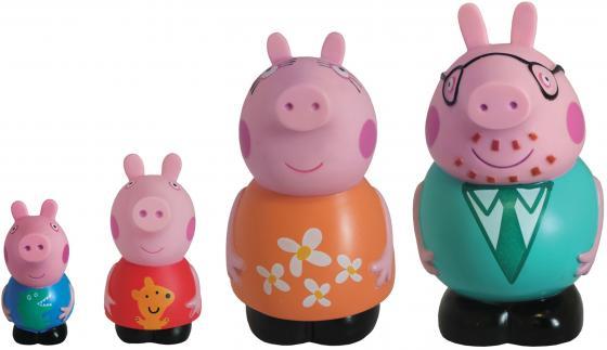 Набор игрушек для ванны Peppa Pig Семья Пеппы Peppa Pig 14 см 25068