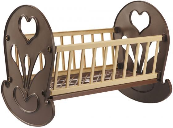 Кроватка-качалка для кукол Огонек ОГ250 С-250 кроватка для кукол огонек 1028