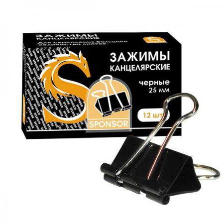 Зажим для бумаг, 25 мм SBC25 meziere wp101b sbc billet elec w p