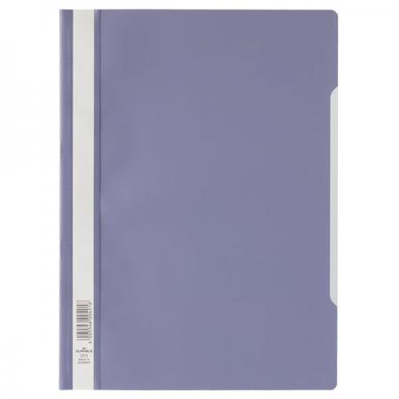 Папка-скоросшиватель, сиреневая, ф. А4, штрих-код 4918 все цены
