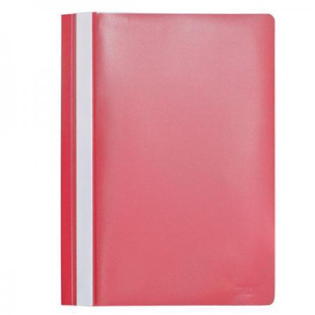 Папка-скоросшиватель, А4, красная I200/RD папка скоросшиватель а4 бирюзовая i200 tq