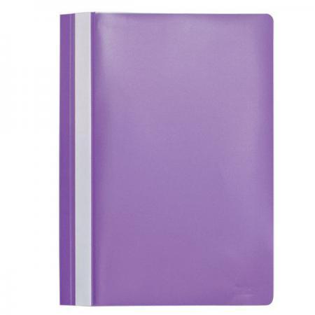 Папка-скоросшиватель, А4, фиолетовая I200/V папка скоросшиватель а4 синяя i200 bu