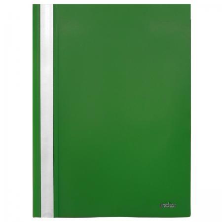Папка-скоросшиватель, А4, зеленая I200/GN папка скоросшиватель а4 бирюзовая i200 tq