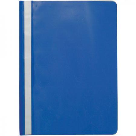 Папка-скоросшиватель, синяя, ф. А4