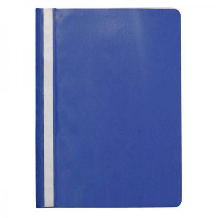 Папка-скоросшиватель, синяя, ф. А4, с перфорацией KS-320B/10/P папка proff а4 60 карманов синяя