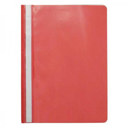 Папка-скоросшиватель, красная, ф. А4, с перфорацией KS-320B/01/P hd 320b