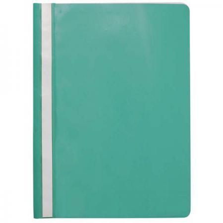 Папка-скоросшиватель, зеленая, ф. А4, с перфорацией KS-320B/03/P hd 320b