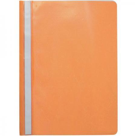 Папка-скоросшиватель, оранжевая, ф. А4 KS-320BR/OS KS-320BR/05 папка на 2 х кольцах galaxy а4 салатовая
