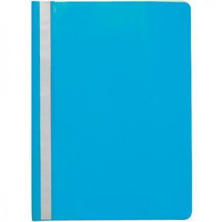 Папка-скоросшиватель, голубая, ф. А4 KS-320BR/13 папка на 2 х кольцах galaxy а4 салатовая