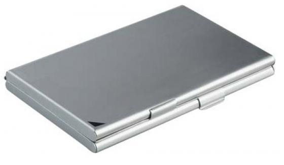 Визитница Durable DUO 20 шт серебристый 2433-23 цена и фото